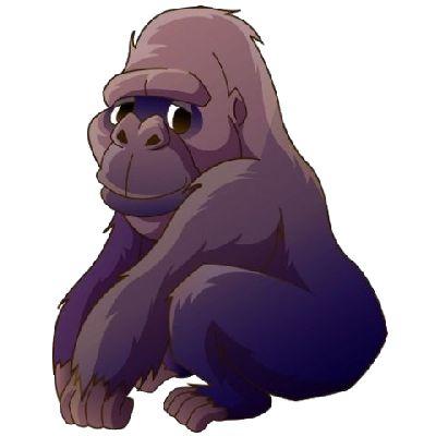 Funny Gorilla Images - Monkeys Cartoon Clip Art