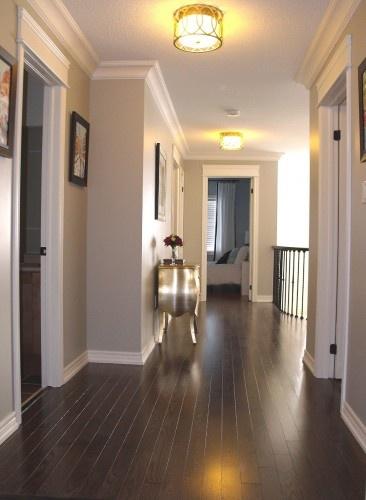 Floors, crown molding