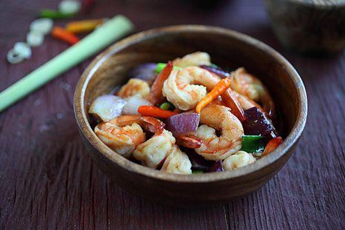 Lemongrass Shrimp | Lemongrass Shrimp Recipe | Easy Asian Recipes at ...