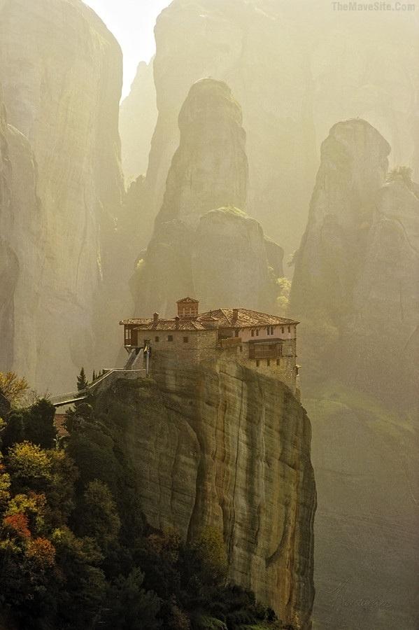 Meteora monastery, Greece (UNESCO World Heritage)