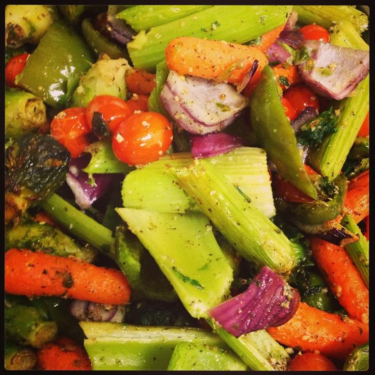 Roasted veg | Food | Pinterest