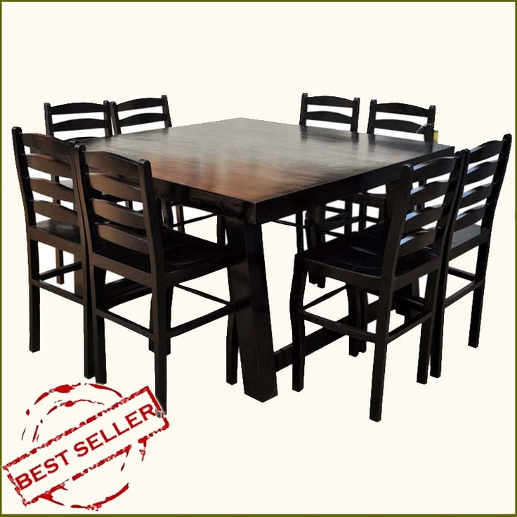 Counter Height Ladder Back Chairs : ... City Elevated Counter Height 9pc Dining Set w Ladder Back Chairs