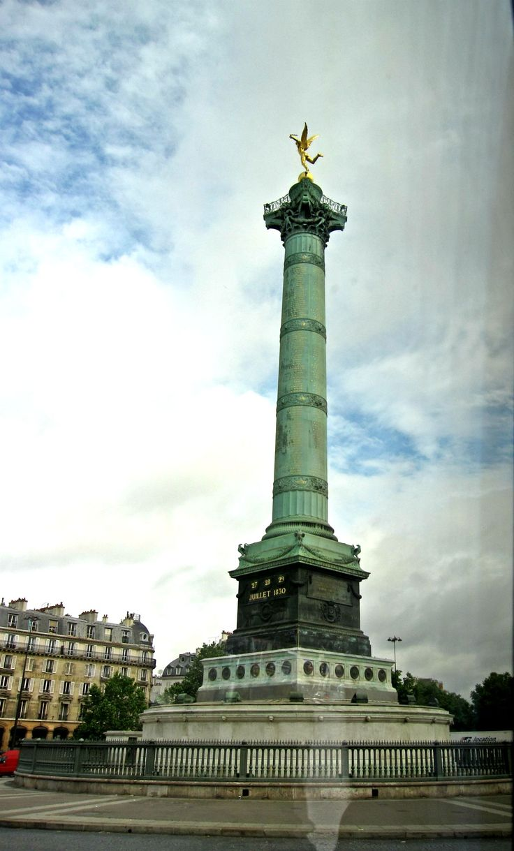 bastille monument location