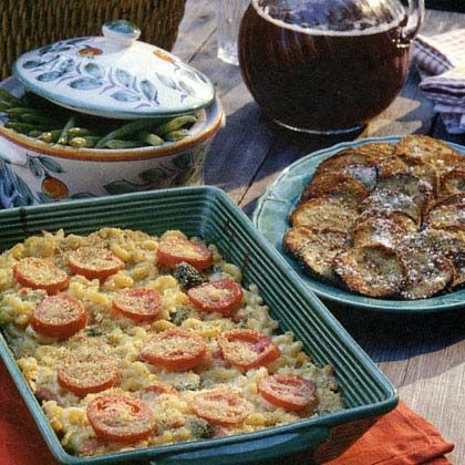 Veggie Mac-and-Cheese | mac and cheese recipes | Pinterest