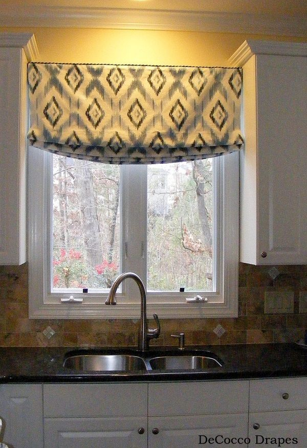 Pin by theworkshop design studio on melrose kitchen for Custom window curtains online