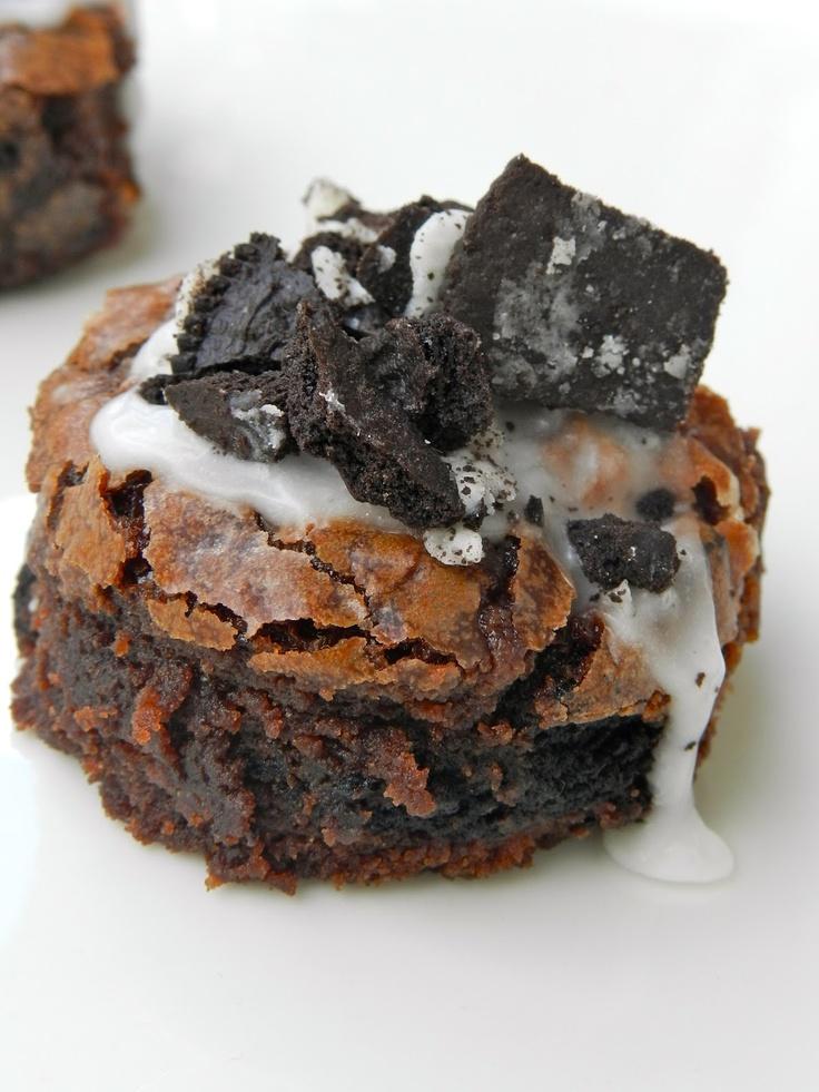 Cookies and Cream Brownies | Brownies * Blondies & Bars | Pinterest