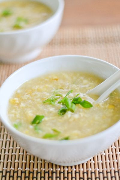 Crab and Sweet Corn Soup | Garden Recipes | Pinterest