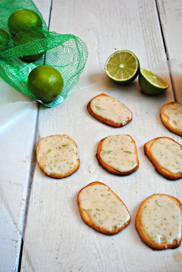Lime-Glazed Cookies | Cookies, Bars & Brownies | Pinterest