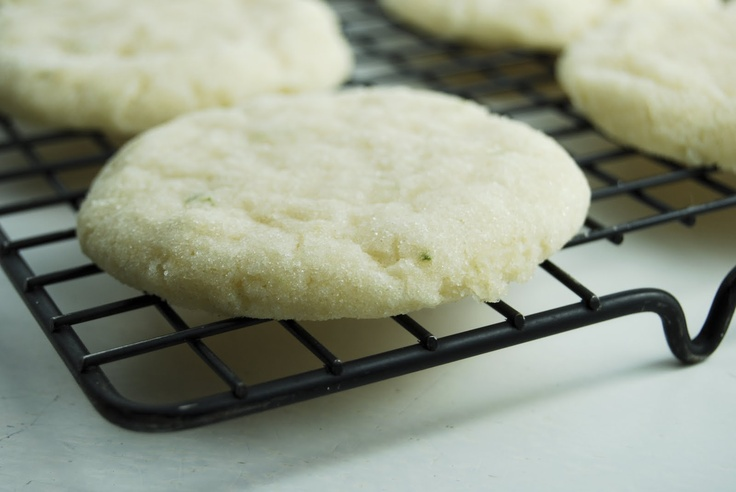 Chewy Coconut-Lime Sugar Cookies | Must. Start. Cooking. | Pinterest