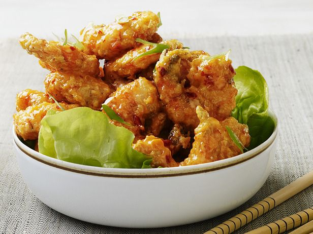 Almost-Famous Spicy Fried Shrimp from FoodNetwork.com