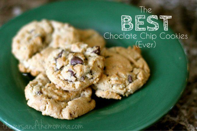 The BEST chocolate chip cookies EVER | GUILTY PLEASURES | Pinterest