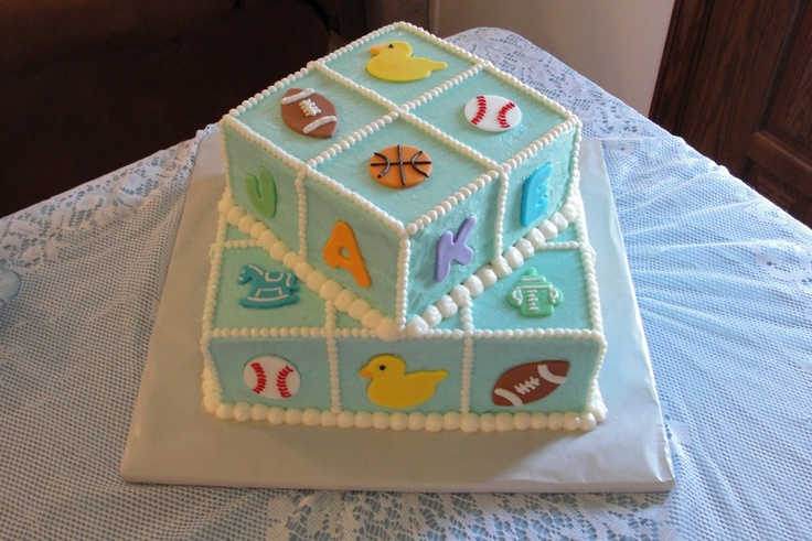 baby shower sports theme top of cake shower ideas pinterest