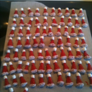 Santa Party Mix in the making!   Holiday Stuff   Pinterest