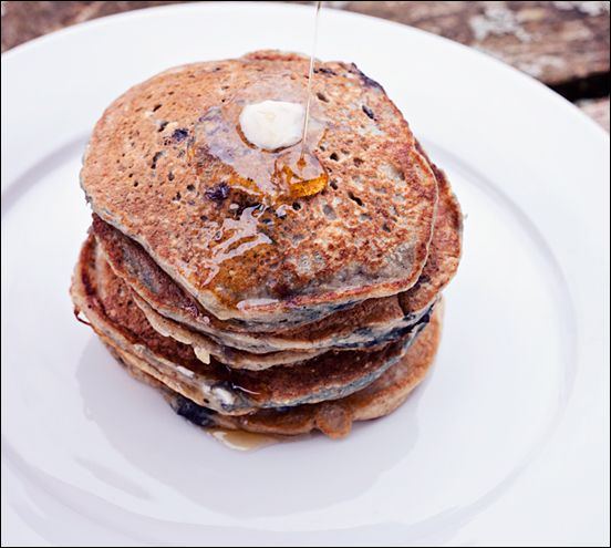 Blueberry Oat Pancakes – Pancakes with no Eggs – Recipe for Easy ...