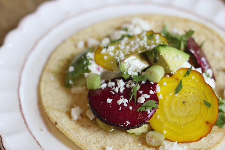 Avocado and Goat Cheese Tacos | ++Gluten-Free Recipes++ | Pinterest