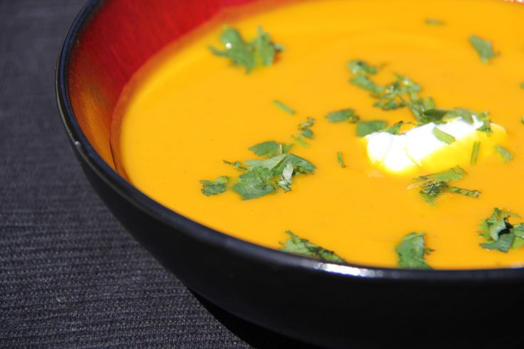 Curried Carrot and Apple Soup | Favorite Recipes | Pinterest