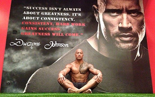 Consistent, hard work gains success. Greatness will come ...