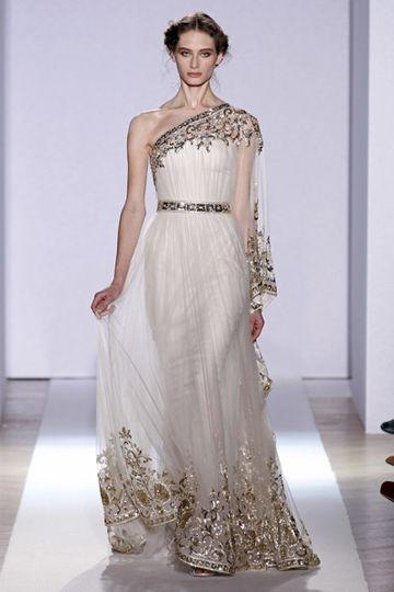 Zuhair Murad Alta Costura SS13 #Novias #Bodas #Bridal