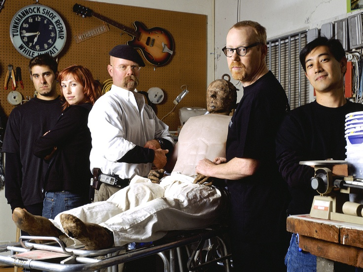 Mythbusters. My personal heroes.