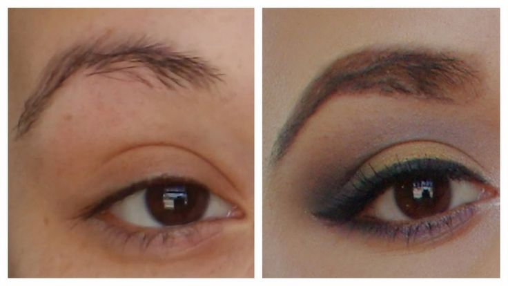 Pin Thin Over Plucked Eyebrows Then Why Not Have Them ...