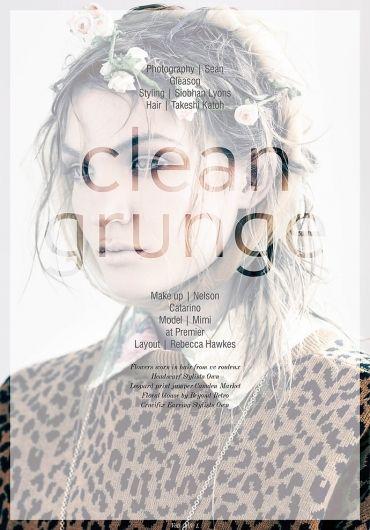 Clean Grunge | Volt Café | by Volt Magazine