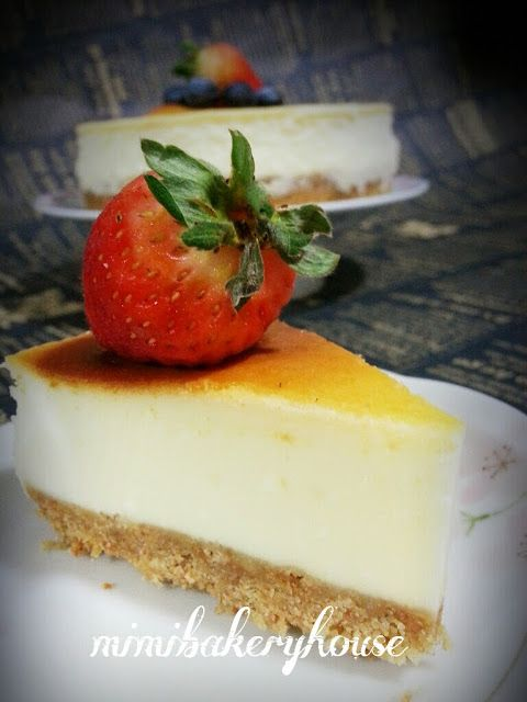 ... House: An Extremely Light New York Cheesecake | Bakes | Pinterest