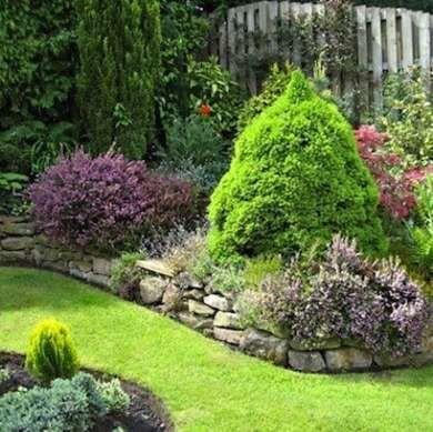 diy garden edging raised stone do you like the raised edge look or