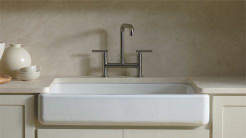Deep Apron Sink : Kohler Apron Front Sink Cookery Pinterest