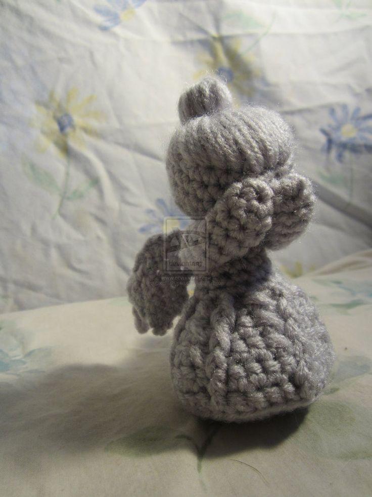 Amigurumi Weeping Angel Pattern : Crochet Weeping Angel FOR SALE Crochet Amigurumi Pinterest