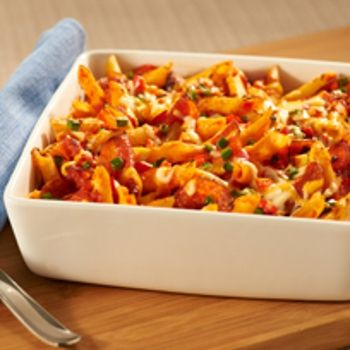 Make Ahead pizza Pasta Bake - Add this recipe's ingredients to your ...