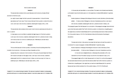 apa style paper example 6th edition