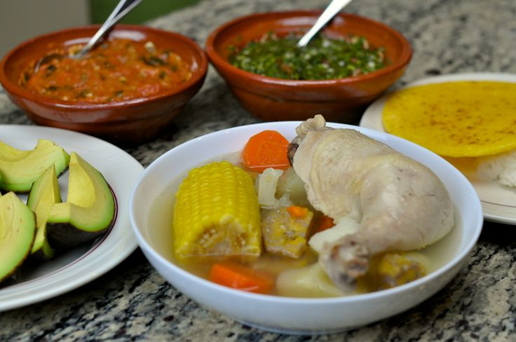 Sancocho de Gallina Colombiano / Colombian Hen Stew Recipe # ...