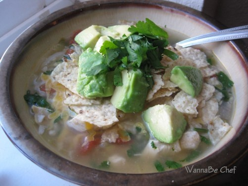 Green chili chicken soup | Foods I Plan to Cook if I Ever Start Cooki ...