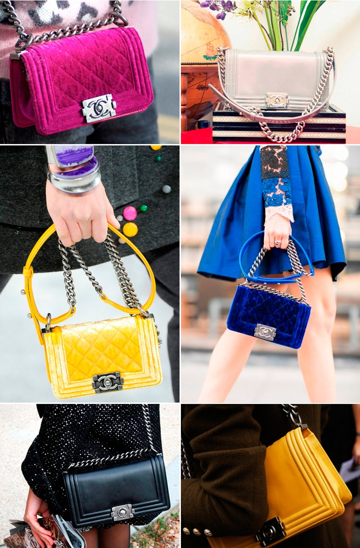 Chanel boy bag - street style details
