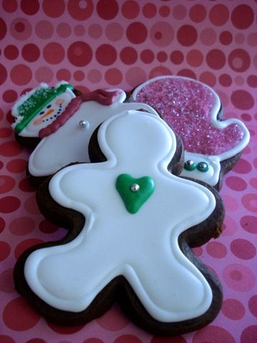 Gingerbread Cookies with Royal Icing | Gingerbread | Pinterest