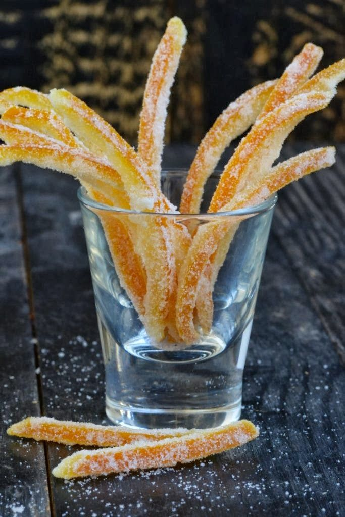 everyday musing: Candied Orange Peel. Why to buy it when it is so easy ...