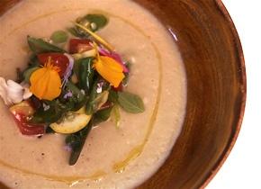 Daniel Patterson's Roasted Eggplant Soup | Recipe