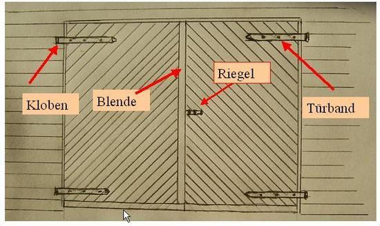 garagentor oder stalltor selbst bauen cabin fever. Black Bedroom Furniture Sets. Home Design Ideas