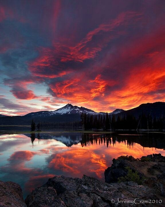 Beautiful Sunset Mountain Landscapes Pixshark