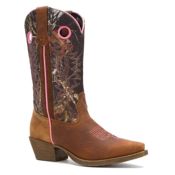 Cutest boots EVER!!! John Deere Women's 11 Camo/Brown/Pink Wellington