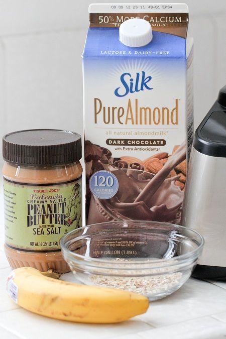 Chocolate Banana and Peanut Butter Milk @Jenny Flake, Picky Palate