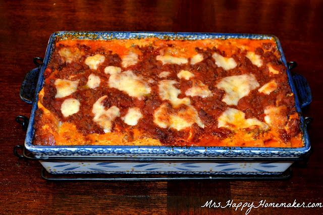 The BEST Lasagna EVER. I think the Van Daele's will have this for ...