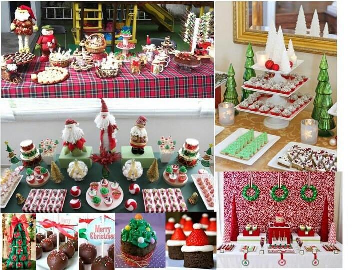 Mesas de dulces para navidad gili p tisserie pinterest - Mesas dulces de navidad ...
