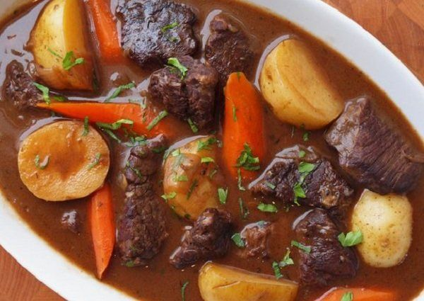 Beef Stew with Carrots & Potatoes | FOOD | Pinterest