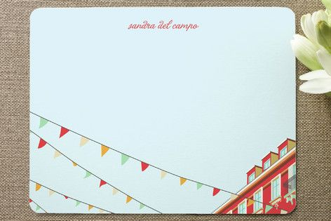 pennant note cards