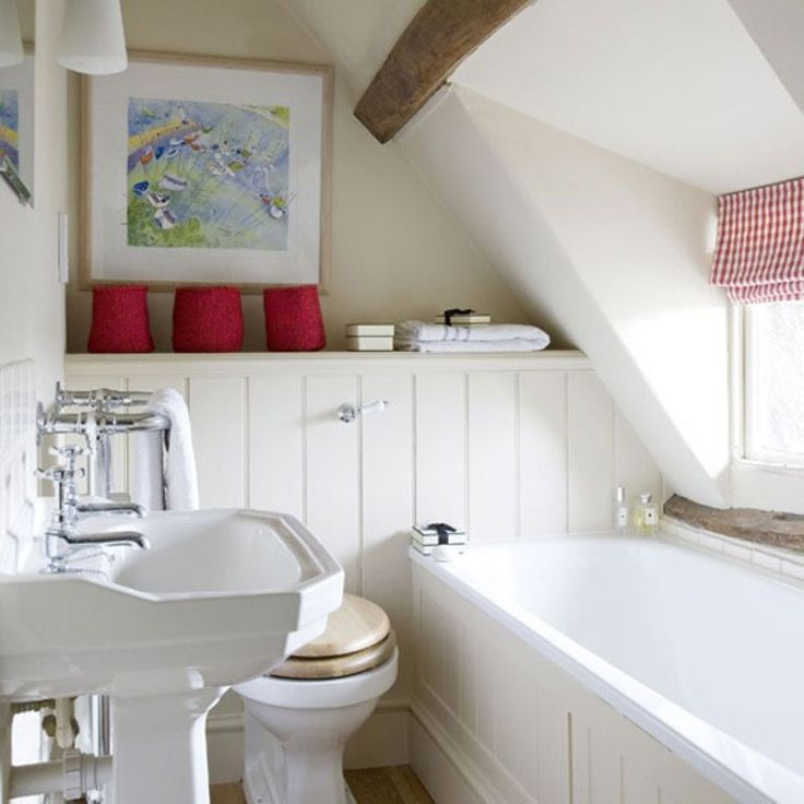 Small Bathroom Design Ideas A Small Home Pinterest