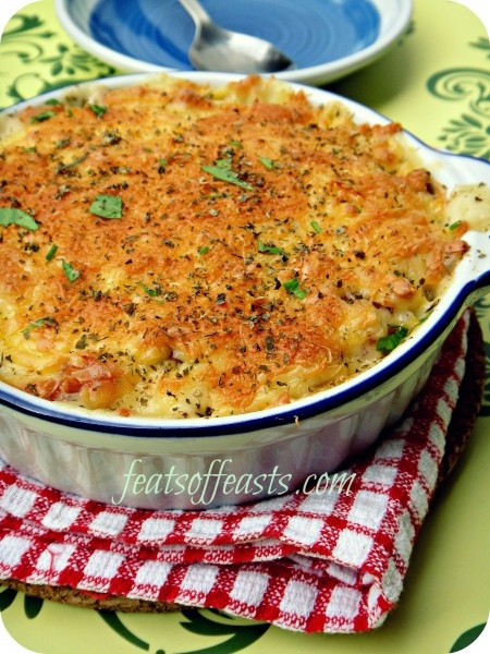 Cheesy Baked Rice | Feats of Feasts Board 7 | Pinterest