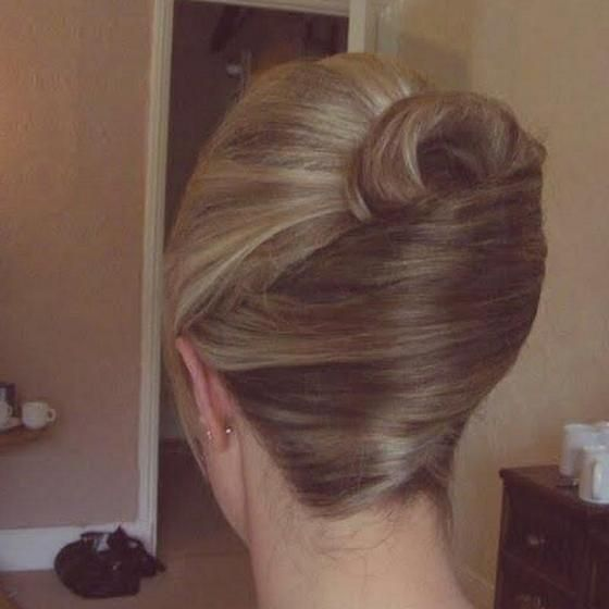 Pretty French Roll Hairstyles For Long Hair Pinterest
