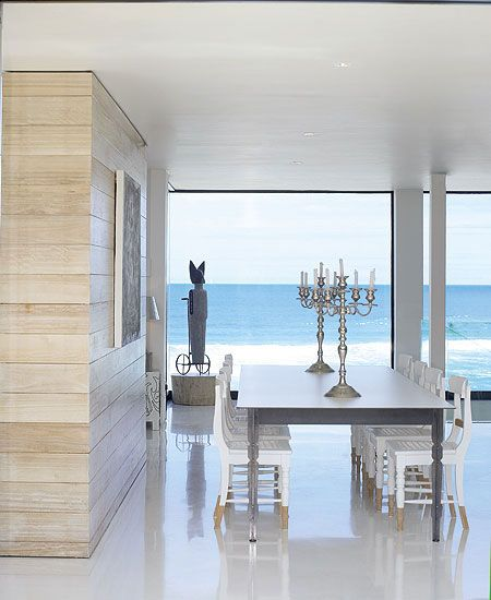 Lovely beach house interior