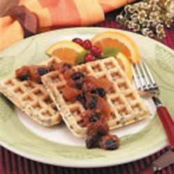 Nutty Pecan Waffles | Recipe